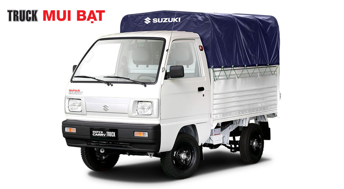 Xe tải suzuki carry truck thùng mui bạt