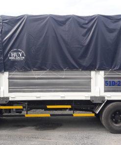 Xe tải ISUZU QKR Bửng nâng 1700kg
