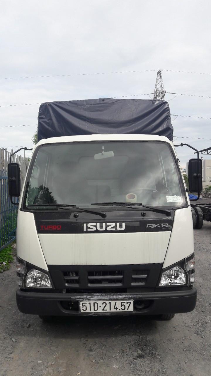 Xe tải ISUZU gắn bửng nâng