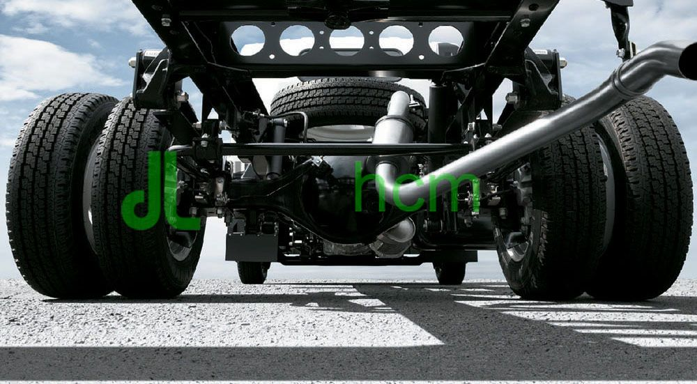 DailySG.vn Cầu sau và chassi xe tai Isuzu QKR