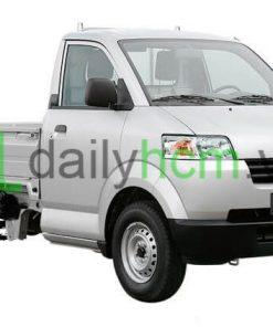 Tổng thế Xe tải SUZUKI CARRY PRO thùng lửng