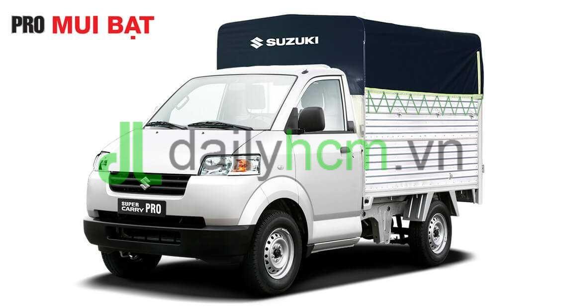 Xe tải SUZUKI CARRY PRO thùng mui bạt