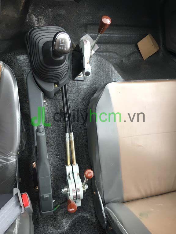 Cần số, cần ben, cần số phụ xe ben TMT 2T4 máy Hyundai