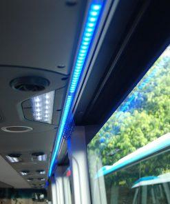 Đèn trần2 bên ghế xe khách Samco 29 chỗ 34 chỗ ngồi
