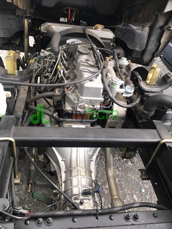 Động cơ, hộp số Hyundai xe ben TMT 2T4 máy Hyundai