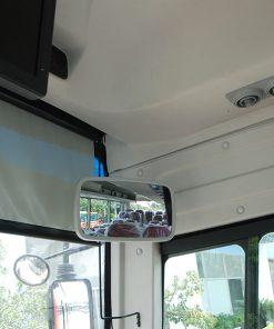 Kính chiếu hậu trong xe khách Samco 29 chỗ 34 chỗ ngồi