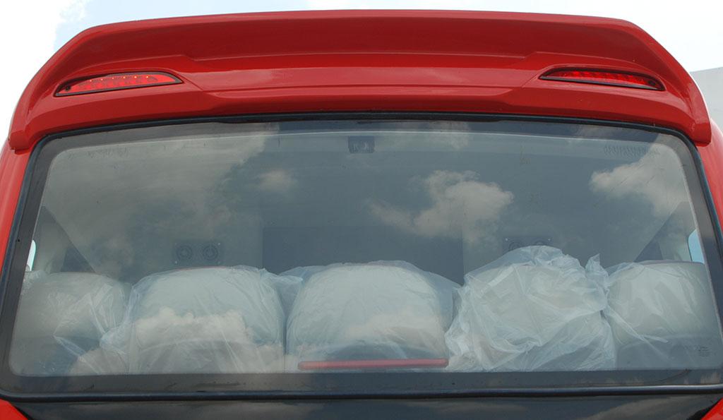 Lướt gió sau xe khách Samco 29 chỗ 34 chỗ ngồi