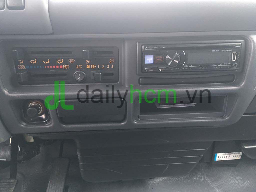 Radio cát-sét và máy lạnh, quạt gió xe tải Isuzu QKR