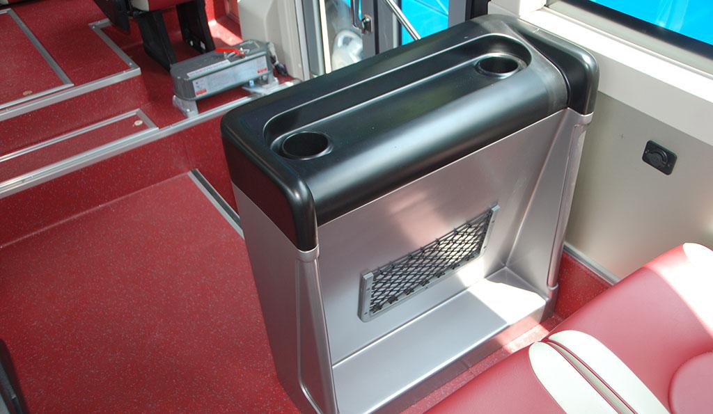 Tủ lạnh xe khách Samco 29 chỗ 34 chỗ ngồi