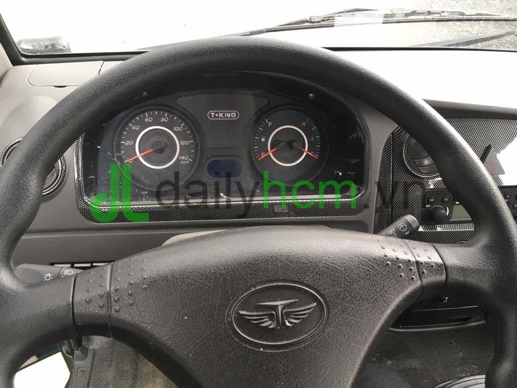 Vô lăng, táp lô xe ben TMT 2T4 máy Hyundai
