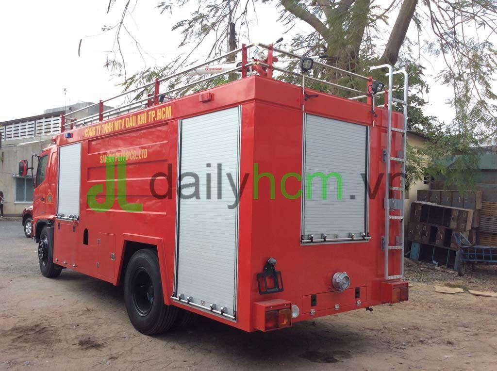 Xe phòng cháy chữa cháy HINO
