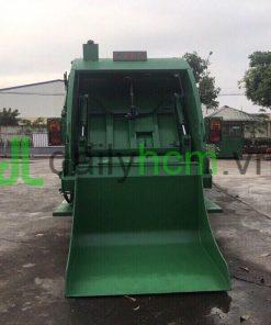 DailySG.vn xe môi trường xe ép rác 10 khối Hino FC