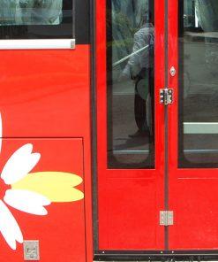 Cửa xe khách Samco 29 chỗ 34 chỗ ngồi