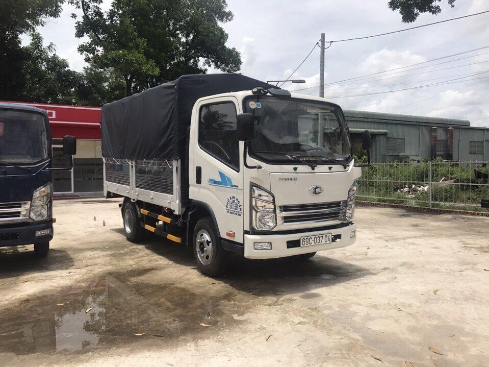 DailySg.vn Xe tải Daehan teraco tera 240 tải 2,5 tấn thùng mui bạt
