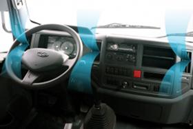 DailySg.vn Nội thất máy lạnh Isuzu Xe tải Daehan teraco tera 240 tải 2,5 tấn