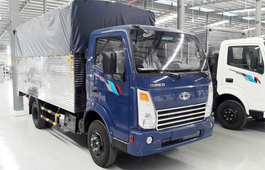 DailySG.vn Xe tải Daehan Teraco Tera 230 2,4 tấn vào thành phố động cơ Hyundai