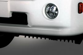 DailySG.vn Đèn cản - đèn sương mù Xe tải Daehan Teraco Tera 230 2,4 tấn vào thành phố động cơ Hyundai