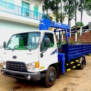 DailySG.vn Xe cẩu hyundai hd99 gắn cẩu tadano TM-ZE303 3 tấn 3 khúc