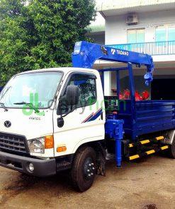 DailySG.vn Xe tải gắn cẩu hyundai hd99 tadano TM-ZE303 3 tấn 3 khúc