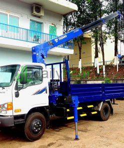 DailySG.vn Xe tải cẩu hyundai hd99 gắn cẩu tadano TM-ZE303 3 tấn 3 khúc