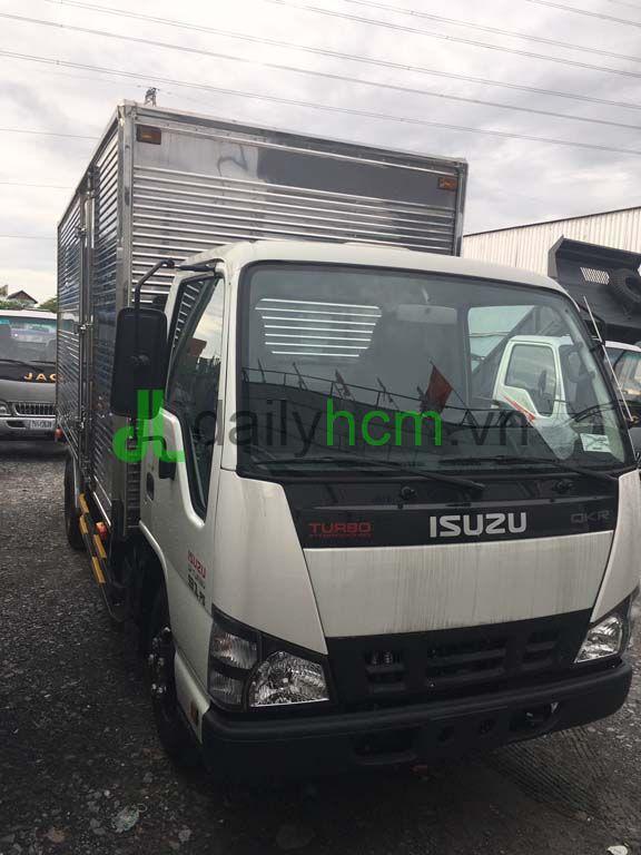 Ca bin xe tải Isuzu thùng kín Inox 2,3 tấn