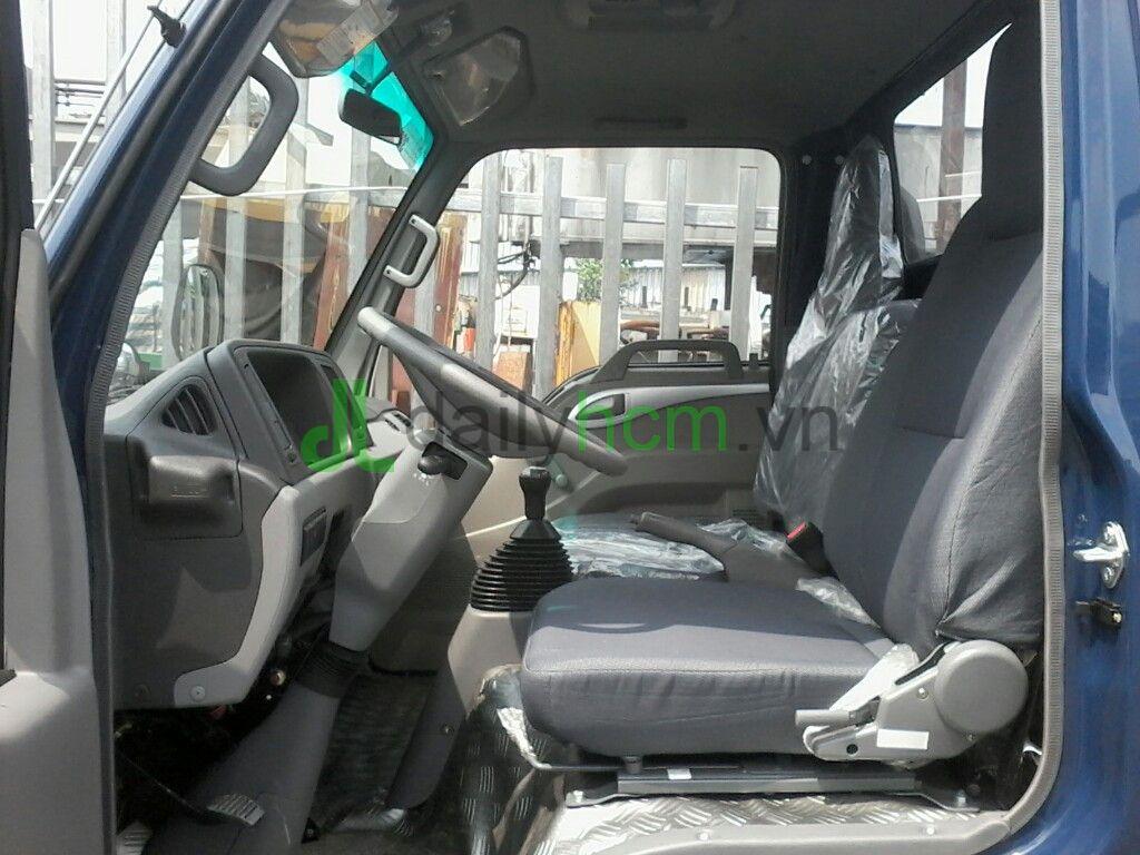 DailySG.vn Xe tải Jac 2t4 vào thành phố ban ngày