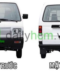 Mặt trước và mặt sau Xe tải Van SUZUKI Carry VAN - BLIN VAN
