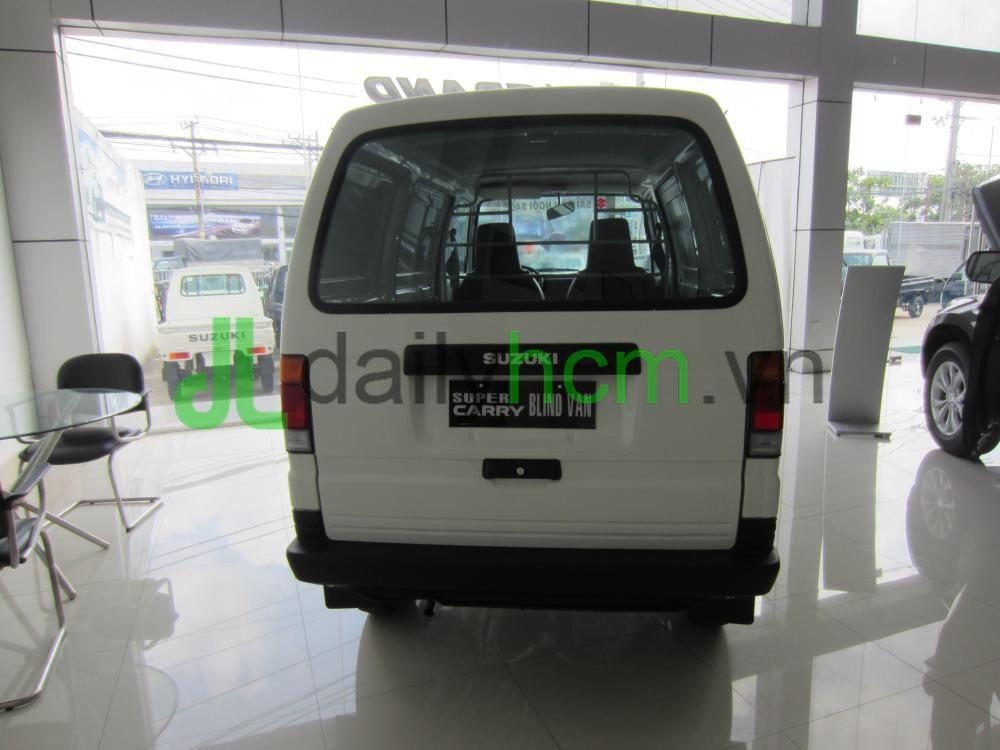Cửa sau Xe tải Van SUZUKI Carry VAN - BLIN VAN