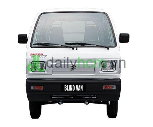 Mặt trước Xe tải Van SUZUKI Carry VAN - BLIN VAN