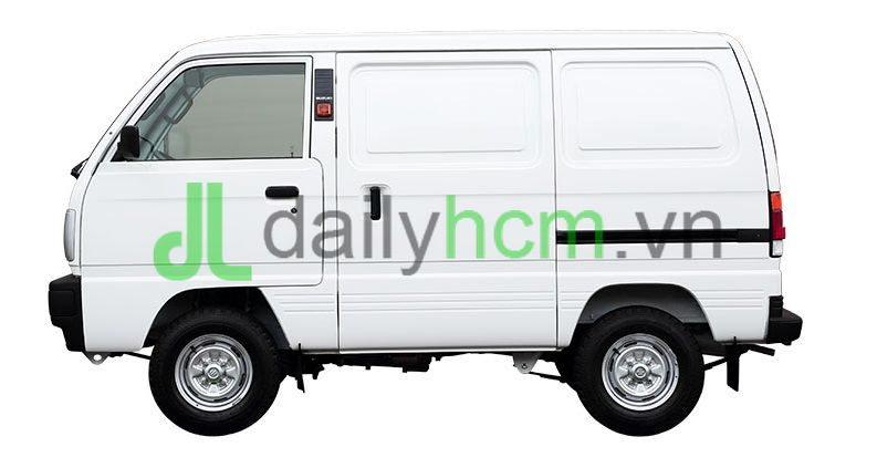 Mặt hông bên tài xế Xe tải Van SUZUKI Carry VAN - BLIN VAN
