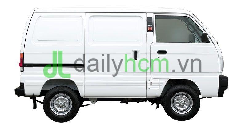 Mặt hông bên phụ Xe tải Van SUZUKI Carry VAN - BLIN VAN
