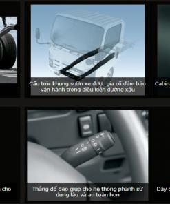Hệ thống an toàn trên xe Isuzu N