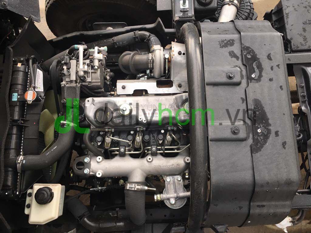 Tổng thể động cơ xe tải Hyundai D4DB 3907 cc