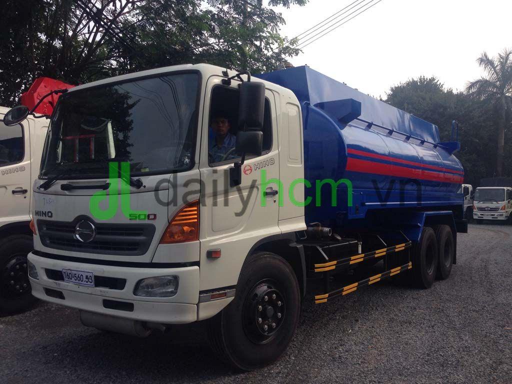 Xe bồn chở xăng 20 khối Hino FL 6x2