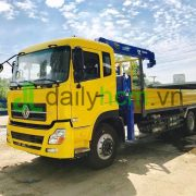 Xe tải Dongfeng 3 chân 6x4 gắn cẩu 5 tấn