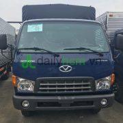 Mặt trước Cabin xe hyundai HD120S 8 tấn thùng mui bạt