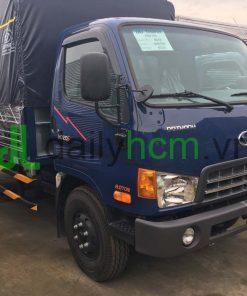 Tổng thể xe hyundai HD120S 8 tấn thùng mui bạt