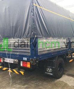 Thùng Xe hyundai HD120S 8 tấn thùng mui bạt