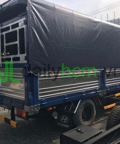 Xe tải Hyundai HD65 thùng mui bạt 5 bửng
