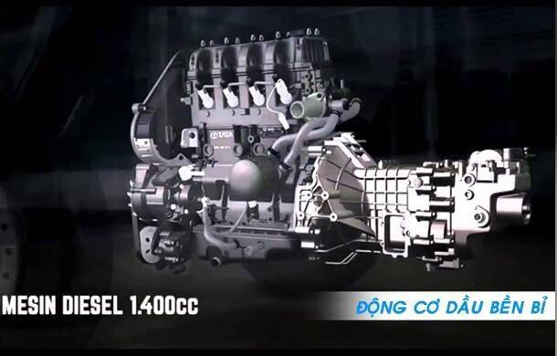 động cơ Diesel xe tata 990kg