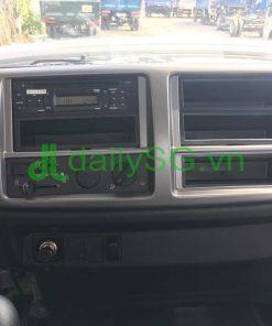 Nội thất tiện ích giải trí cabin xe Hino 500