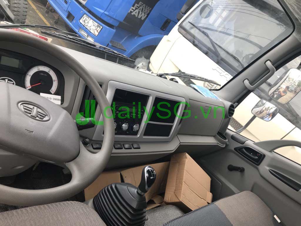 Nội thất xe Faw Hyundai nhập