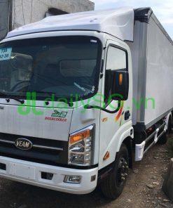 mặt trước xe tải veam VT260