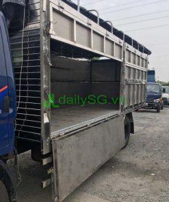 Xe tải 8 tấn thùng mui bạt Inox chở gạch