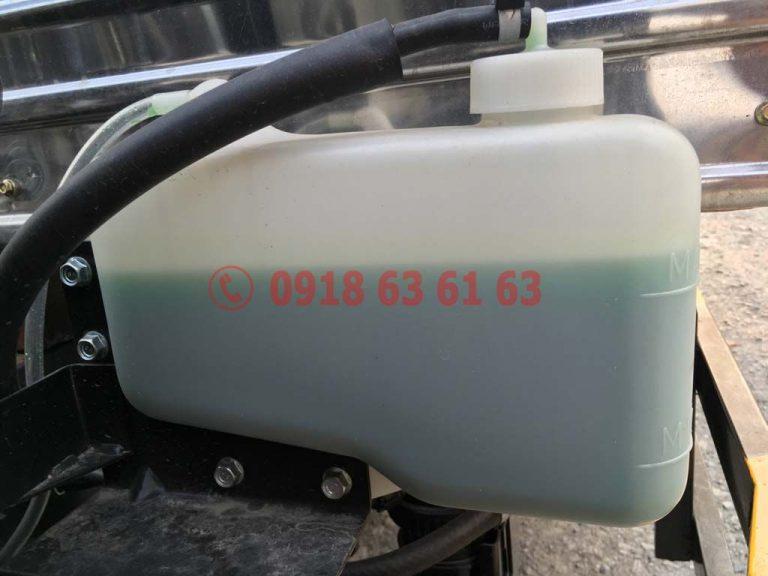 Bộ phận bình nước phụ động cơ xe tải Isuzu Euro 4 4JH1E4NC dung tích 2.999cc 3.0cc