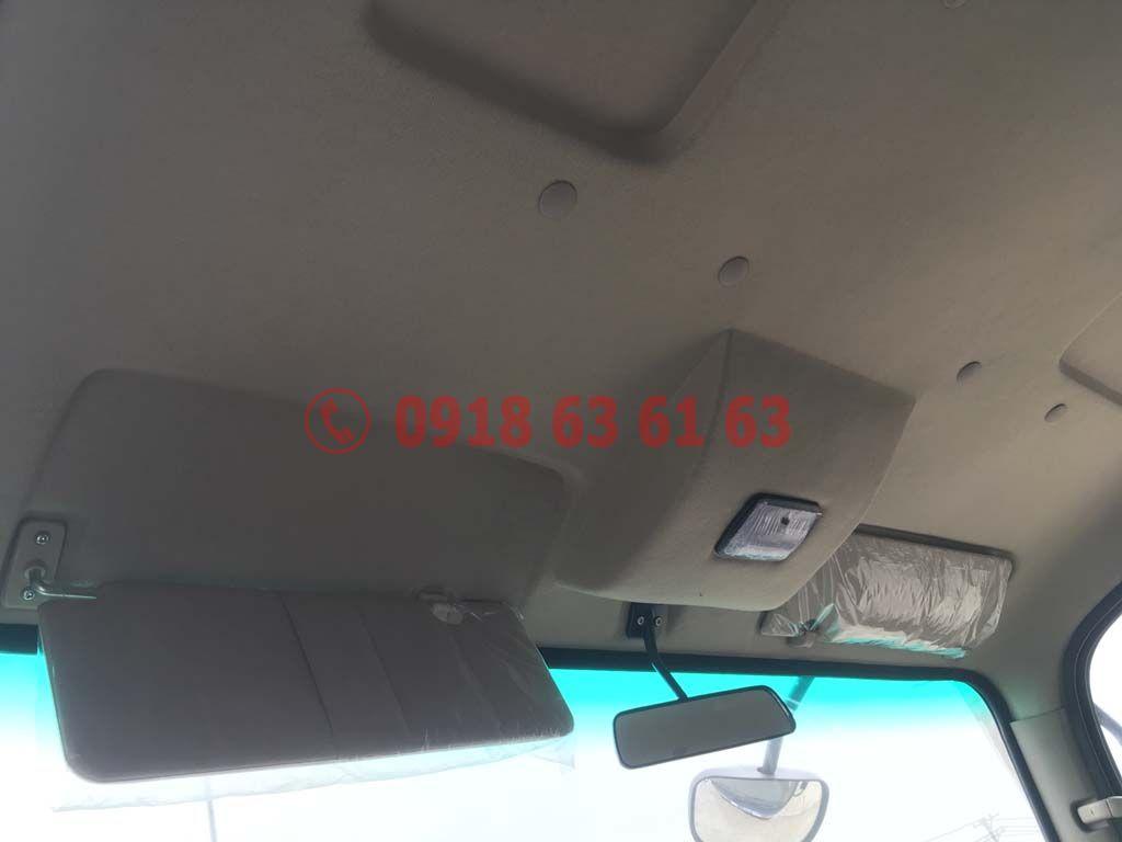 Nội thất trần xe, đèn cabin Xe tải Teraco Tera 250 động cơ Hyundai