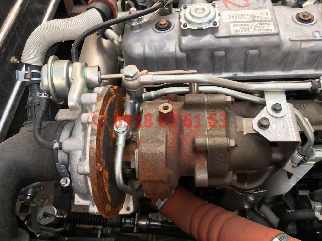 Bộ phận Turbo tăng áp động cơ xe tải Isuzu Euro 4 4JH1E4NC dung tích 2.999cc 3.0cc