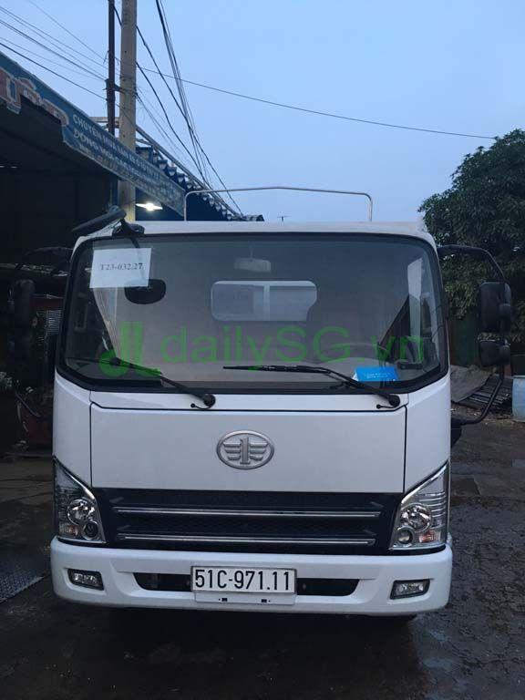 Cabin Xe tải Faw 8 tấn thùng mui bạt động cơ Hyundai D4DB