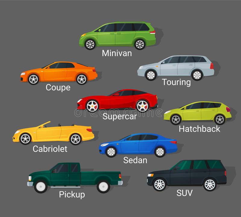 Xe con có những loại xe nào