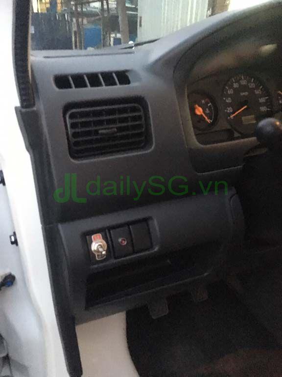 Quạt gió, máy lạnh Xe tải Suzuki Carry Pro thùng kín Inox 750kg